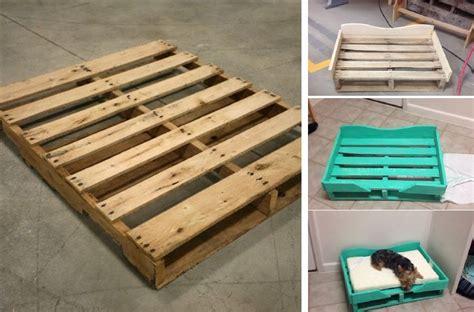 dog bed out of pallets diy pallet dog bed home design garden architecture