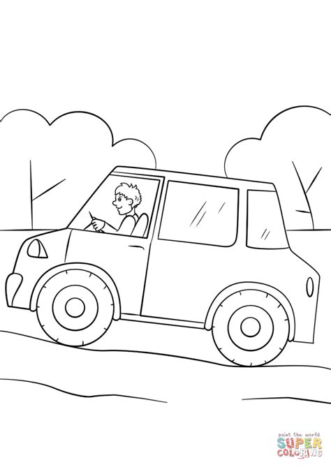cartoon car coloring page cartoon car coloring page free printable coloring pages