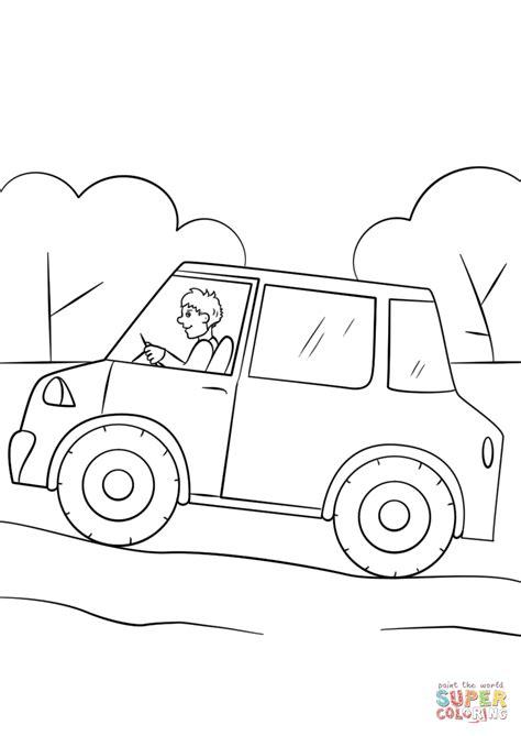 coloring pages of cartoon cars cartoon car coloring page free printable coloring pages