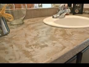 Cheapest Bathroom Vanity Easy Cheap Diy Concrete Countertops Youtube