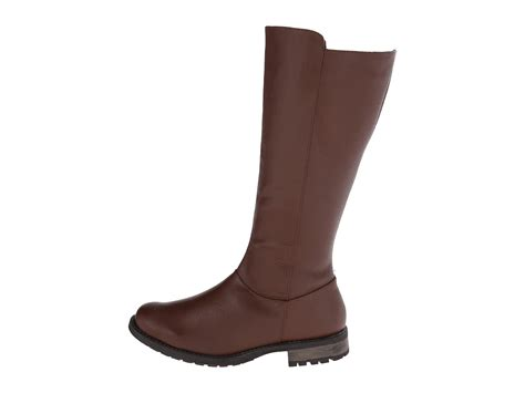 fitzwell boots fitzwell menier wide calf cognac leather shipped free at