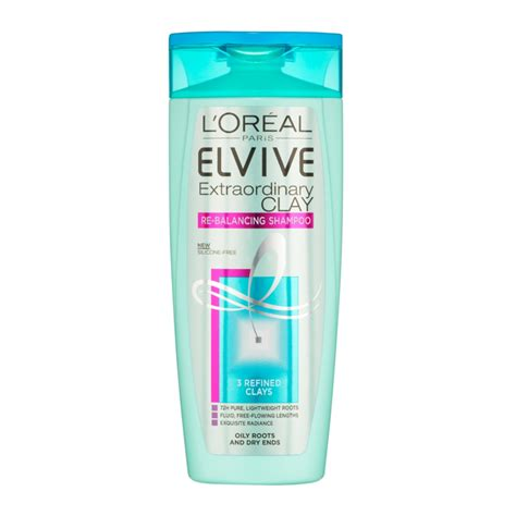 Loreal Elvive l or 233 al elvive extraordinary clay shoo 250ml feelunique