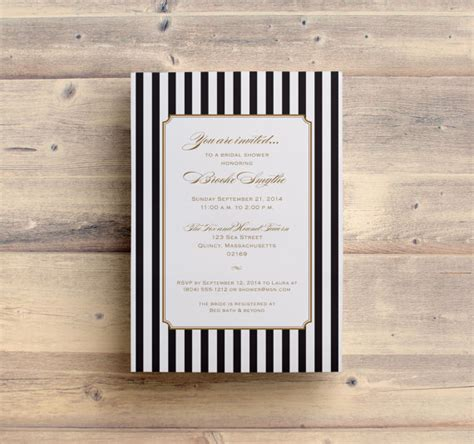 Self Printing Wedding Invitations by Self Print Invitations Printable Bridal Shower Invitation