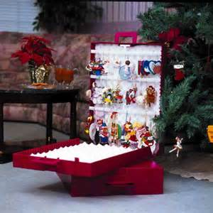 home accessories christmas tree ornament storage box