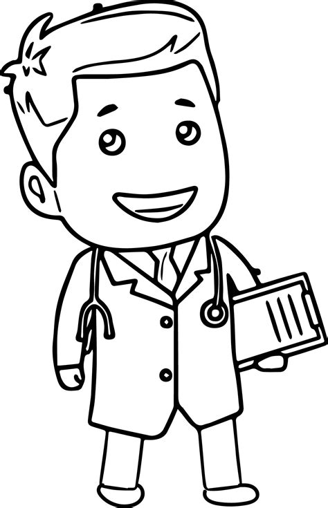 coloring page doctor tools doctor tools clipart doctor cartoon coloring page