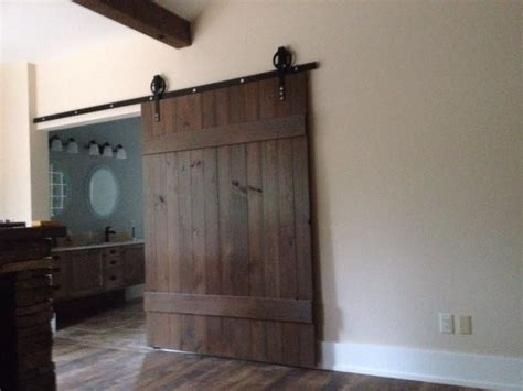 Barn Door Widths - transitional barn door wide transitional