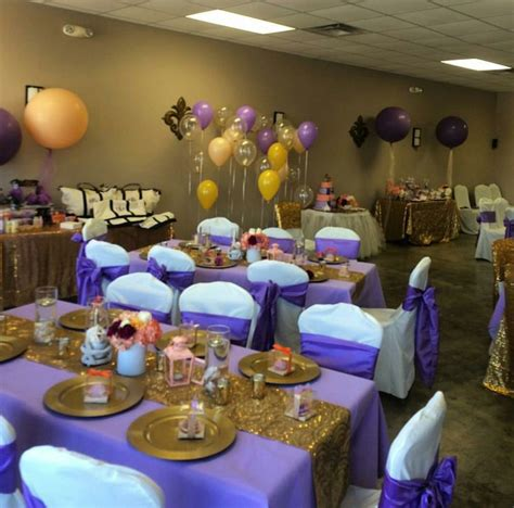 Purple Baby Shower Ideas by Royal Purple And Gold Baby Shower Princess Elise