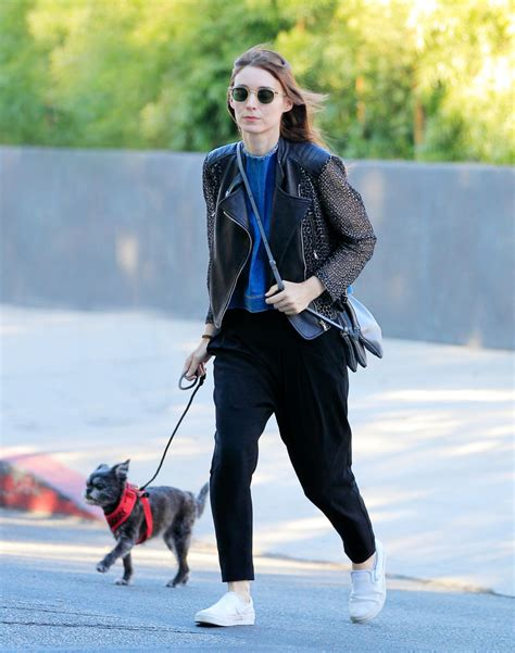 lion film rooney mara rooney mara out with her dog in new york 08 17 2016