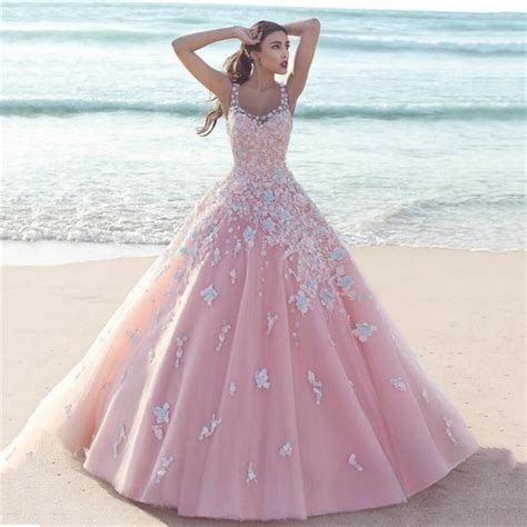 Pink Wedding Dresses by 2017 Saudi Arabia Pink Gown Wedding Dress With