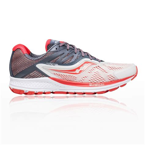 saucony ride womens running shoes saucony ride 10 s running shoes ss18 10