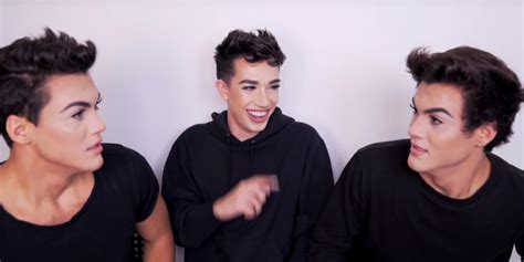 james charles makeup dolan james charles gives the dolan twins glam makeovers video