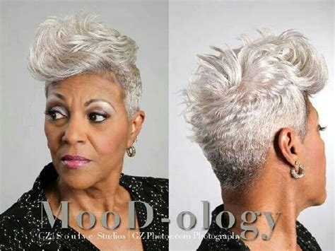 african american silver hair styles 17 best images about silver fox on pinterest black women