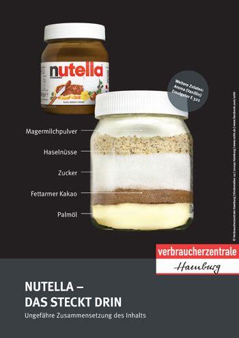 Verbraucherzentrale Hannover Musterbriefe Shop Der Verbraucherzentrale Niedersachsen Nutella Das Steckt Drin