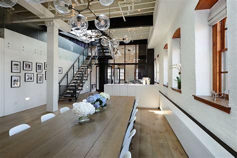 a modern new york city loft decoist posh penthouse loft blends timeless nyc magic with modern