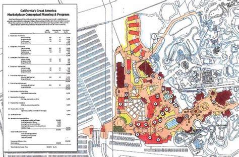 theme park zoning california s great america 2018 railblazer rmc raptor