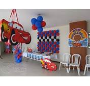 DECORACION FIESTA TEMATICA CARS  YouTube