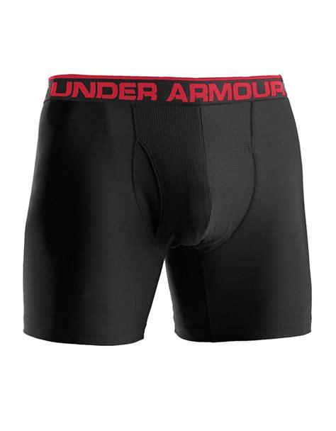 Armour Boxer Original Sale armour original boxerjock 6 inch boxer briefs in black for lyst