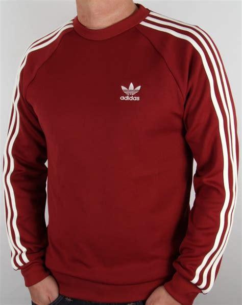 Pusat Sweater Adidas Reds adidas originals superstar crew neck mystery crew neck jumper mens