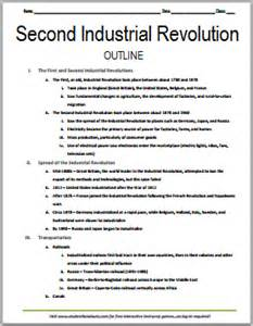The Industrial Revolution In Europe Free Essays by Second Industrial Revolution Free Printable History Outline