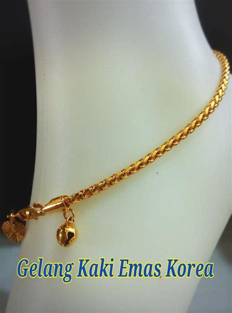 Sale Gelang Fashion Klabang gelang kaki emas korea 24k cel end 3 8 2017 4 15 pm myt
