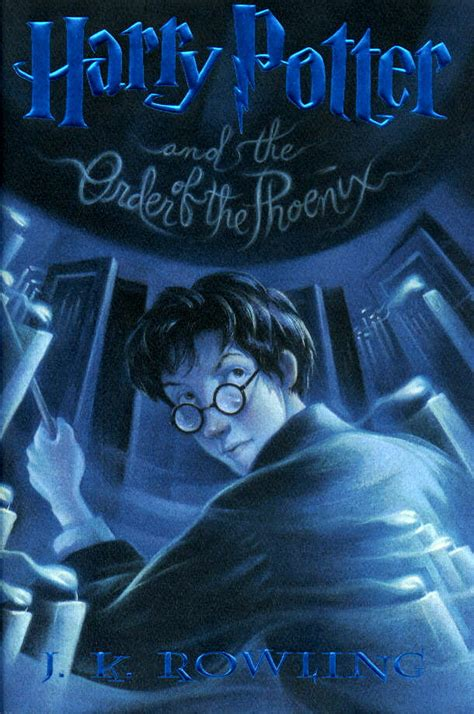 the book of five harry potter books list in order