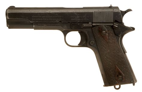 deactivated wwi us colt 1911 allied deactivated