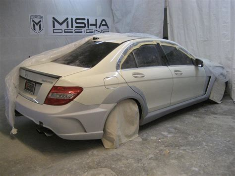 Bodykit Mercy W204 C Class Amg C63 Asli Plastik Taiwan misha designs new mercedes c class wide kit page