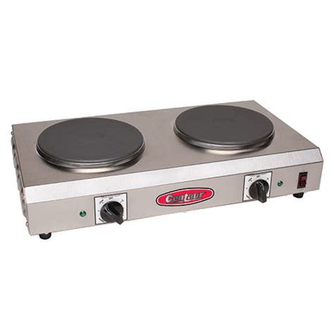Electric Countertop Range by Value Series Cdr 2cen Electric Countertop Range Two 7 1 2 Quot Diam Burners Side To Side