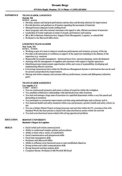 sample resume team leader call center danaya us