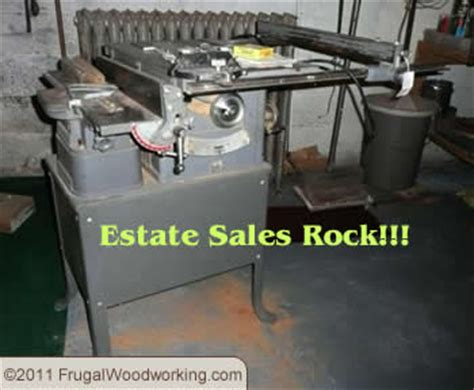 estate sales frugal woodworking