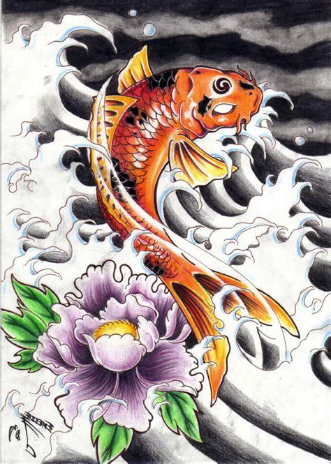 tattoo was passt zum koi die besten 25 dragon koi fish ideen auf pinterest koi