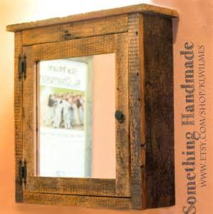 barn wood medicine cabinet barn medicine cabinet with mirror made from 1892 by klwilmes