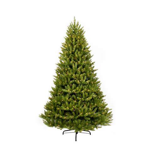 home depot garden club fraser fir 12 ft tree artificial pre lit incandescent slim fraser fir lights 804606710567 ebay