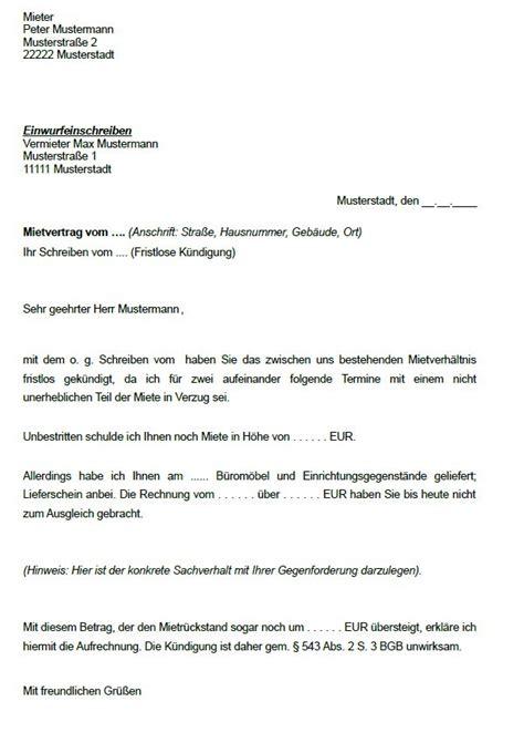 Vorlage Rechnung Nach Sterreich k 252 ndigung mietvertrag vorlage k 252 ndigung vorlage fwptc
