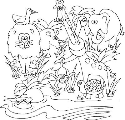 jungle animals coloring pages preschool our preschool homeschool jungle kittens eyes lighthouse