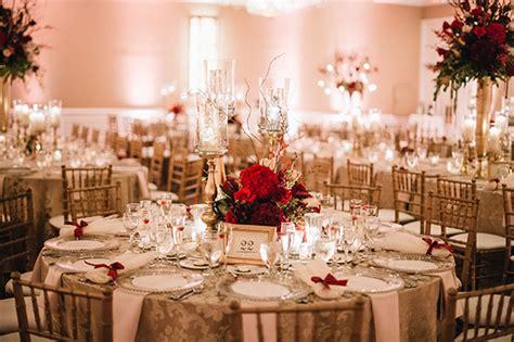 glamorous wedding with gold and burgundy colors leonidas chic stylish weddings