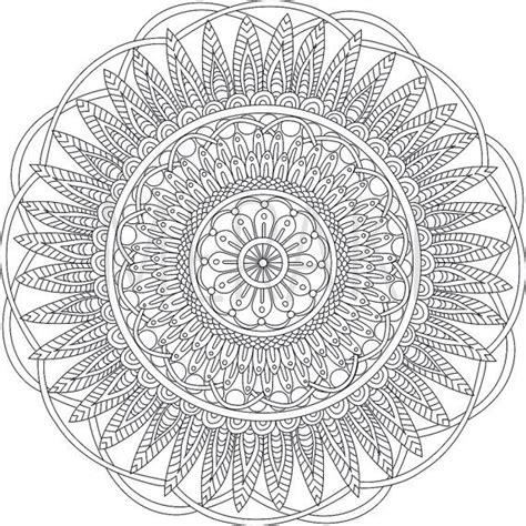 zen mandalas coloring book pdf 17 beste idee 235 n mandala kleurplaten op