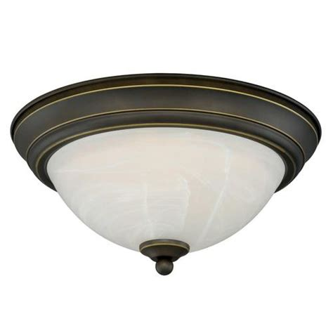 menards kitchen ceiling lights payton led 13 quot rubbed bronze ceiling light at menards 174