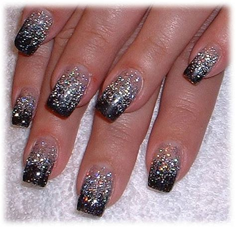 nail art glitter tips tutorial making glitter nail art nail designs mag