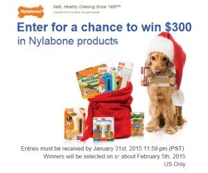 Mr Sweepy Sweepstakes - sweepstakestoday com nylabone holiday sweepstakes