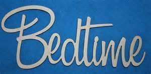 Bedtime word