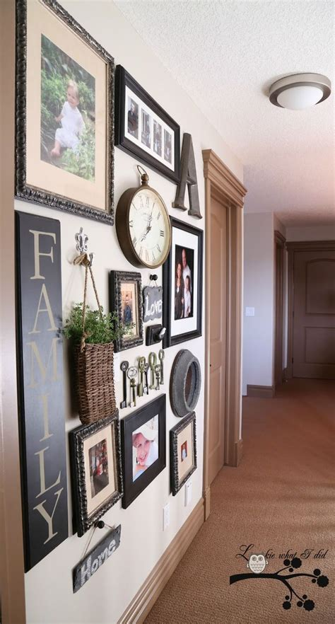 wall gallery ideas lookie what i did my picture gallery wall for