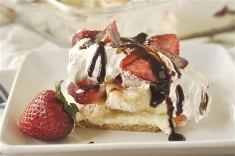 No Bake Banana Split Dessert No Bake Banana Split Dessert Recipe Your Homebased