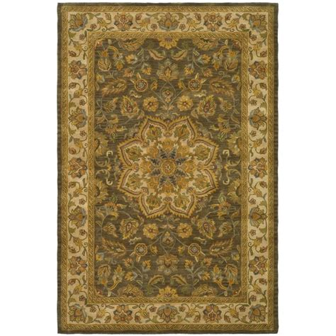 safavieh heritage accent rug in red green hg421a 2 safavieh heritage green taupe 6 ft x 9 ft area rug