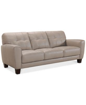 martino leather sofa martino leather sectional living room furniture collection