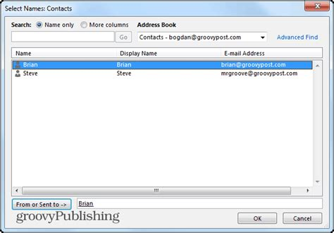 Search Person By Email Outlook 2013 How To Use Search Folders To Find Email Fast