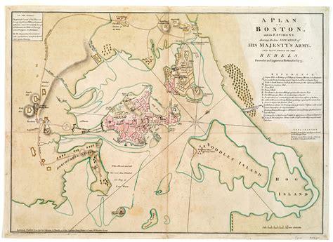 boston map 1775 richard williams maps the siege of boston journal of the