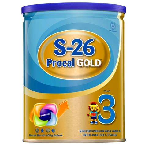 Procal Gold S26 Tahap 3 1 6kg s 26 procal gold tahap 3 400gr tin