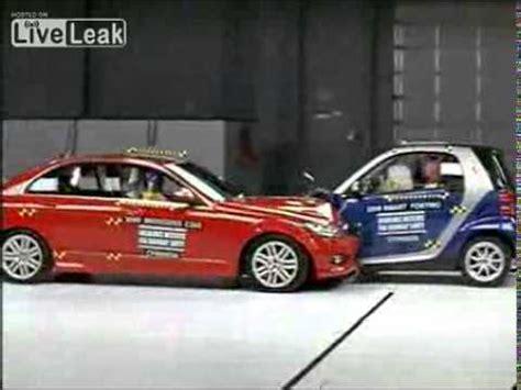 smart car test smart fortwo crash test