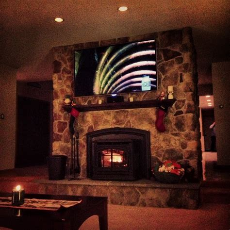 canaan ct tv install on natural stone above fireplace hanging flat screen tv on stone fireplace best image